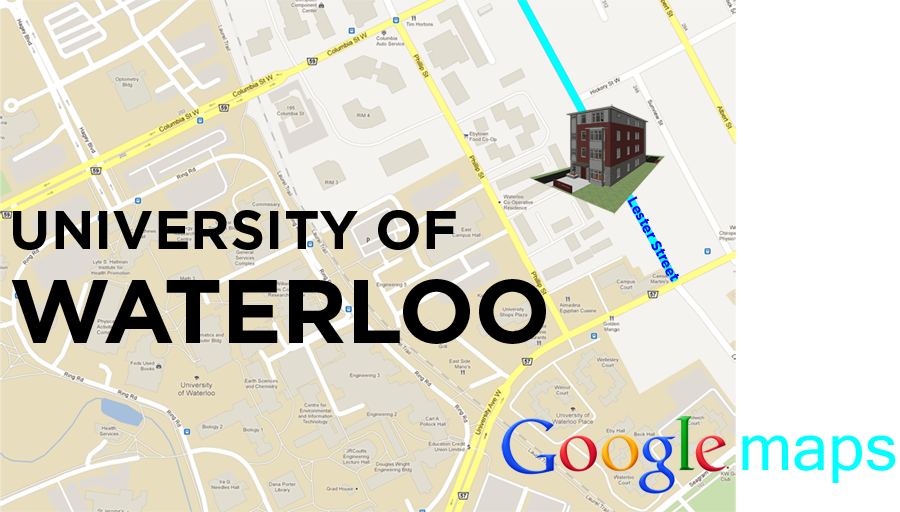 Google Map Waterloo